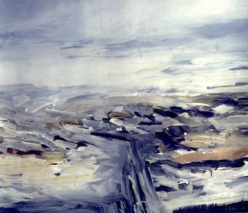 Landschaftsfragment, 1987