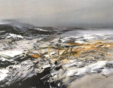 Landschaftsfragment, 1988