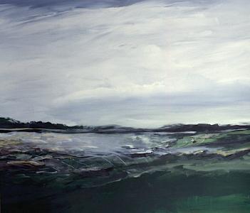 Landschaftsfragment (Seestück), 1987