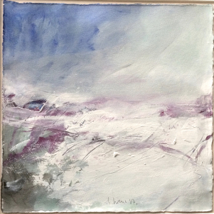 Landschaftsfragment (Studie), 1987