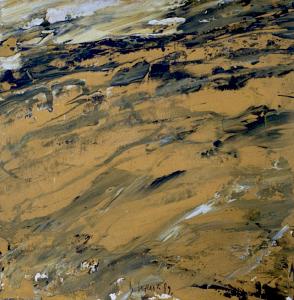 Landschaftsfragment (Studie), 1989