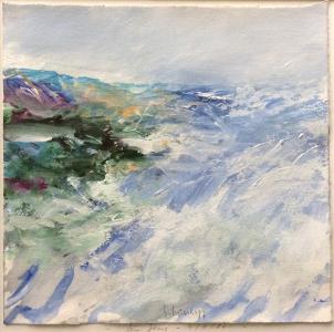 Landschaftsfragment (Studie für Jens), 1987
