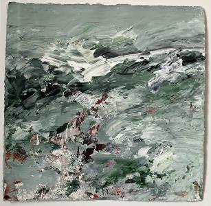 Landschaftsfragment (Studie IV), 1989