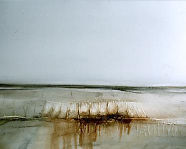 Landschaftsrelief, eisenhaltig, 1980