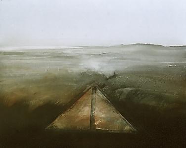 Landschaftsrelief Nr. 14, 1980