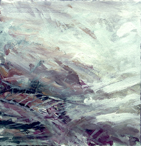 Landschaftsstudie, 1987