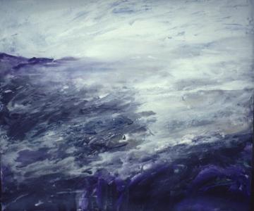 Landschaftsstudie, 1989