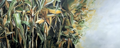 Maisfeld Nr. 3 (zweiteilig), 1988