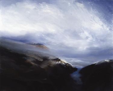 Schottische Landschaft, 1986