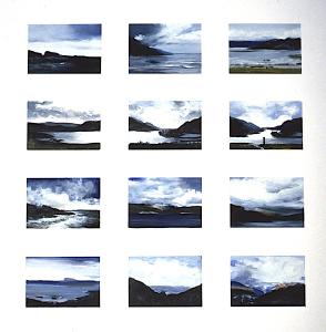Schottland-Block (12-teilig), 1985