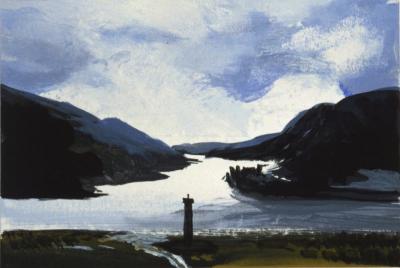 Schottland-Block (Detail), 1985