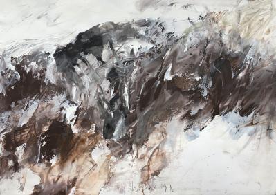 Hügelstudie, 1991