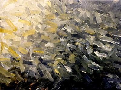 Landschaftliche Struktur 5, 1992