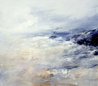 Landschaftsfragment, 1990