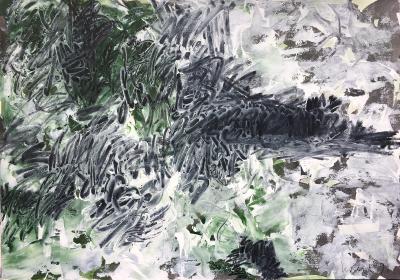 Landschaftsfragment, 1991