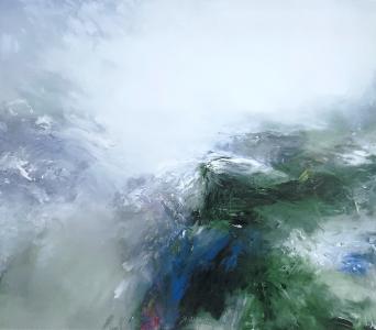 Landschaftsfragment, 1992