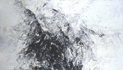 Landschaftsfragment (Grat), 1998