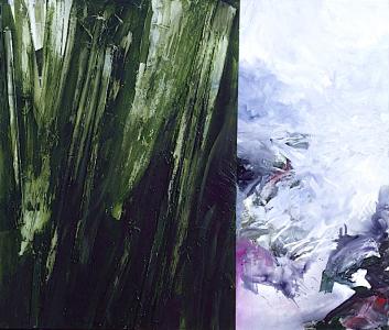 Landschaftsfragmente, 1990