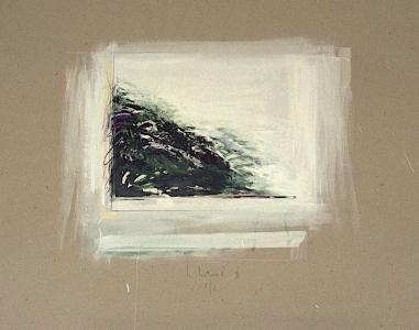 Landschaftsstudie, 1990