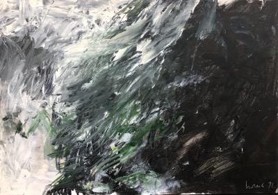 Landschaftsstudie, 1991