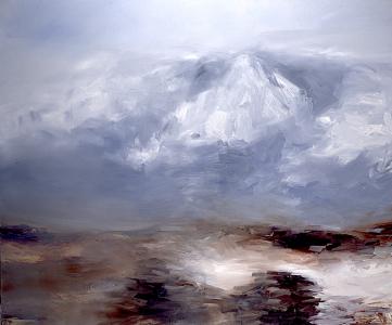 Reiselandschaft (In die Berge), 1998