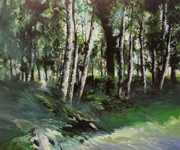 Landschaft bei Venne, 1986