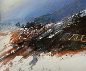 Moorlandschaft (Fragment), 1988