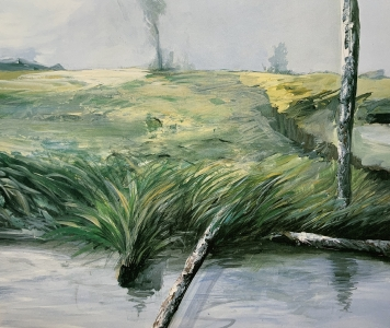 Moorlandschaft VI (Venner Moor), 1987