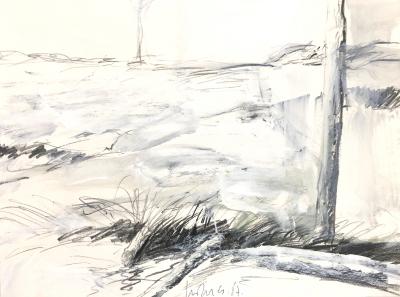 Studie (Moorlandschaft), 1987
