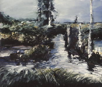 Studie zu Moorlandschaft, 1988