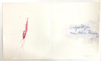 Tagebuch (Endgültiges zum Action Painting), 1992