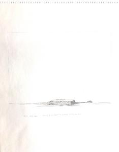 Entwurf für ein Objekt in der Landschaft, 1976