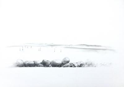 Landschaft bei Blavand, 1977