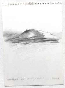 Landschaftsfragment, 10.12.1976