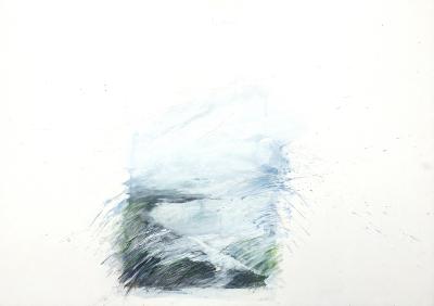 Landschaftsfragment, 25.3.1983