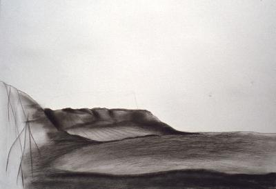 Landschaftsfragment (Studie), 1974