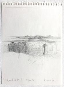 Landschaftsfragment (Zaun), 1976