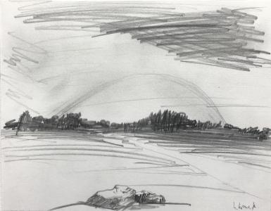 Landschaftsstudie, 1976