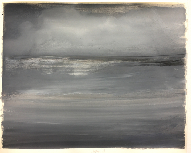 Landschaftsstudie, 1977