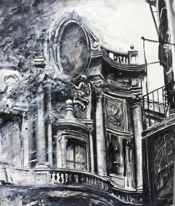 San Carlo alle Quattro Fontane, Rom, 1990