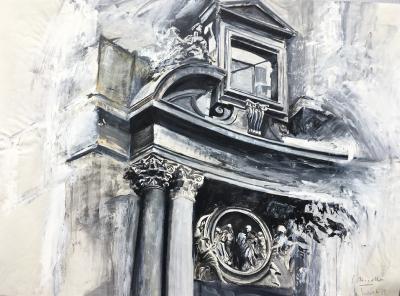 San Marcello al Corso, Rom, 1989