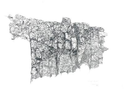 Steinbruch-Fragment, 1979 / 80